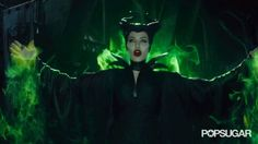 Pin for Later: 11 Chilling Maleficent GIFs That Prove Angelina Jolie Is the Ultimate Villain A Flash of That Sinister Spell
