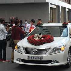 Aww... We got to see a groom on his way to marry his future wife. #vietnam #authentic #groom #getting married