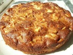 One Bowl Apple Cake 2 eggs 1 3/4 c sugar 2 tsp cinnamon 1/2 c oil 6 med Gala, Fuji or Honey Crisp apples 2 c flour 2 tsp baking powder  Oven 350°. In large bowl mix eggs, sugar, cinnamon and oil. Peel/slice apples and add to mixture in bowl. Mix together baking powder and flour and add to the ingredients in the bowl. Mix well (best with a fork) until all of the flour is absorbed by the wet ingredients. Pour into greased one 9x13 or two 9″ round pans. Bake for approx 55 min.