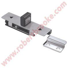 toilet partition ada slide bolt latch keeper ss httpwwwpartitionsandstalls washroomtoiletshardware - Bathroom Stall Hardware