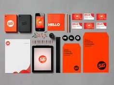 SIG / Brand Identity by Boombit , via Behance