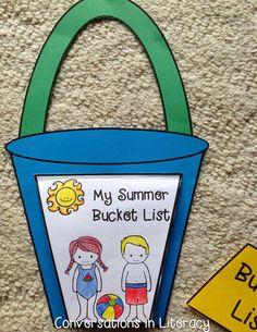 Summer Bucket List writing activity!