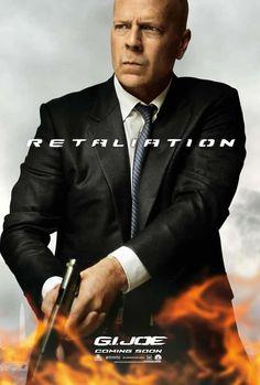 G.I. Joe 2 : El Conrataque  Bruce Willis and GI JOE, need I say more!!!??? I dont think I need to!