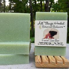 Tea Tree & French Green Clay Facial Spa Bar