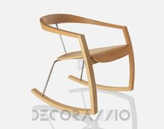 #wood #wooden #furniture #design #interior   кресло-качалка Zilio RO RO, RO RO изображение