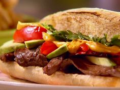 Sunny's Cheesesteak Recipe : Sunny Anderson : Food Network - FoodNetwork.com