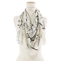New York City Scarf This square scarf features New York City streets. 61% silk, 36% wool & 3% cashmere Madewell Accessories Scarves & Wraps