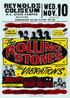 Vintage Rock N Roll Posters