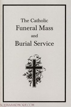 Catholic Funeral Etiquette Iii  The Mourning Period By Marian