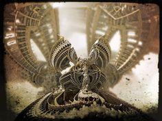 Amazing 3D Fractal from Mandelbulber
