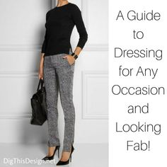 God I LOVE Fashion and that's why I can't help but give fashion advice on my lifestyle blog!