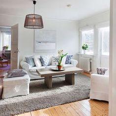 house in Norrtalje, living room styled by Mig Design, Stockholm
