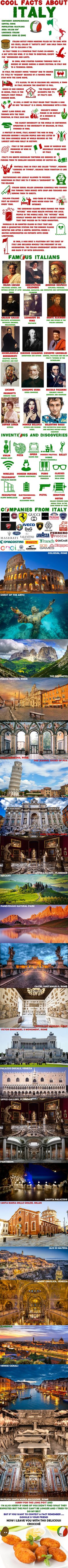 Cool Facts About Italy