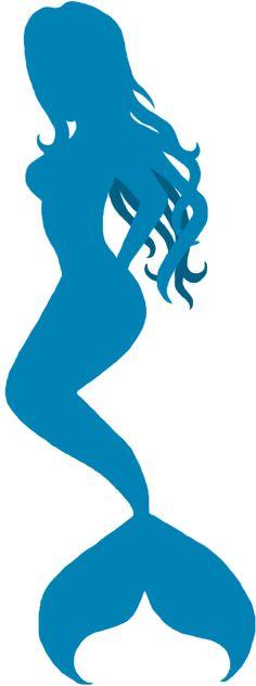 mermaid silhouette | Mermaid Silhouette by ~SlightDelirium on deviantART