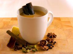 Masala Chai, Tea Recipes, Indian Food Recipes, Real Food Recipes, Primal Recipes, Drink Recipes, Spicy Bite, Chai Recipe, Recipe Tasty