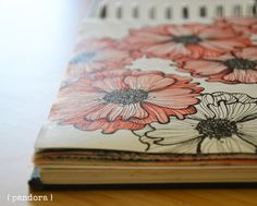 sketchbook by pandora creazioni * inspired by Alisa Burke