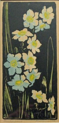 Arie Zonneveld (1905-1941) Small Dafodils