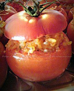 Pomodori ripieni di riso - ricetta vegetariana