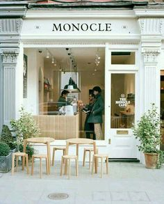 Cafe and Coffee Shop Interior and Exterior Design Ideas Design Shop, Coffee Shop Design, Cafe Design, Store Design, Design Design, Cafe Interior Design, Paris Design, Bakery Design, Signage Design