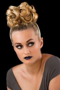 Editorial Makeup such fun! my hair-styling - Di Sandron makeup Megan Braunbeger