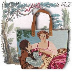 French Scene Painting, #scene #painting #charm #frenchdesign #love leshopdemoz.com