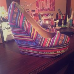 Wedges by madden girl Nwot super cute Madden Girl Shoes Wedges
