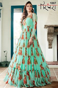Gown/Crop Top Exclusive Collection Total 4 Design in Size - L , XL , XXL  Code - RATE 1007 - Rs 2855 | 1008 - Rs 3447 | 1009 - out of stock | 1010 - Rs 3078 | +Shipping extra #Partyweargown #Croptoplehega