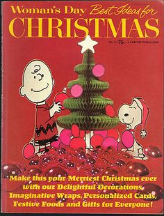 Vintage Christmas Magazine ~ Woman's Day ©1969 ~ Charlie Brown and Snoopy