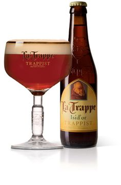 La Trappe Isid'or - the abbey calls it an amber ale that's caramel-ish and slightly bitter. I described it as a trappist IPA. It's pretty hoppy. Good, but I'll stick with the Quads