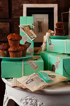 MARYPAT Pastry Shop packaging // designed by Walnut Studio