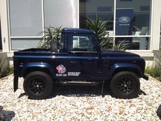 My Land Rover defender 90 pick up ltd edition