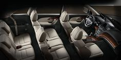MDX with Advance and Entertainment Packages and Graystone interior