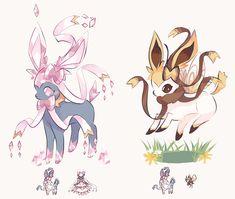 Don't repost my art Pokemon Mix, Pokemon Fusion Art, Pokemon Fan Art, Pokemon Super, Ninetales Pokemon, Pokemon Eevee Evolutions, Bulbasaur, Cute Animal Drawings, Kawaii Drawings