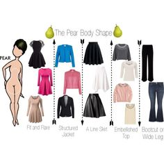The Pear Body Shape by minimaliststylist on Polyvore featuring мода, J.Crew, CC, MICHAEL Michael Kors, Diane Von Furstenberg, Vero Moda, Fenn Wright Manson, maurices, MSGM and Mint Velvet Pear Shaped Dresses, Pear Shaped Outfits, Body Types, Pear Body Shapes, Body Shape Guide, Triangle Body Shape, Pear Shape Fashion, Pear Shaped Women, Hourglass Shape