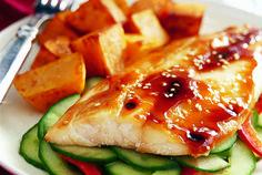 Vivaneau / 3 premiers ingrédients pour le poisson La balance pour la salade de concombre