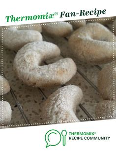 Coffee & Hazelnut Horseshoe Biscuits by Thermo in the CITY. A Thermomix <sup>®</sup> recipe in the category Baking - sweet on www.recipecommunity.com.au, the Thermomix <sup>®</sup> Community.