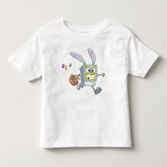 SpongeBob - Easter Basket Toddler T-shirt - tap, personalize, buy right now!