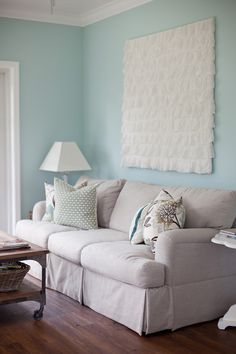 Turquoise Room, House of Turquoise House Of Turquoise, Murs Turquoise, Turquoise Walls, Living Room Colors, My Living Room, Home And Living, Living Room Designs, Living Room Decor, Simple Living