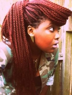 Braids With Color