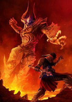 Castlevania Lords Of Shadow I, Daniel Jiménez Villalba on ArtStation at http://www.artstation.com/artwork/castlevania-lords-of-shadow-i