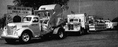 Dark Roasted Blend: Unsung Heroes: Vintage Garbage & Sanitation Trucks