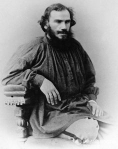 На фото: Лев Николаевич Толстой. 1868 год.  |  ЛЕВ ТОЛСТОЙ