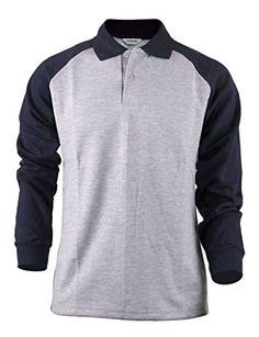 BCPOLO Fashion cotton polo shirt Mens raglan design sportswear shirt-grey XS BCPOLO http://www.amazon.com/dp/B00U0VQHMO/ref=cm_sw_r_pi_dp_bEQ7ub0R9WT70