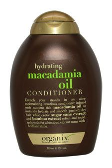 hydrating macadamia oil conditioner by organix