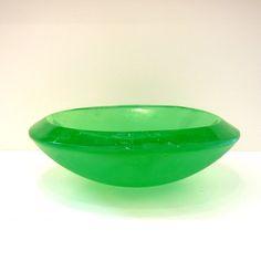 'Emerald Bowl' by Nejat Kavvas - Parnell Gallery Artist  http://www.parnellgallery.co.nz/artists/nejat-kavvas/