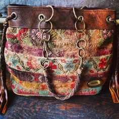 Beautiful Handmade Antique Anatolian Tote Bag by StanzelDesigns, $850.00