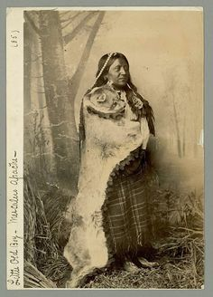 Little Old Boy (aka Dwarf) - Mescalero Apache - 1885