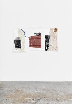 Nadine Geopfert is a Berlin-based textile designer whose work focuses on the materiality and structure of textiles. Her Permanent Compression. Artwork Design, Design Art, Scandinavian Wall Decor, Ice Art, Textile Artists, Fabric Painting, Textiles, Installation Art, Textile Design