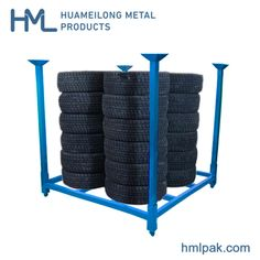 [Tire Rack]Warehouse Folding Stacking Demountable Metal Tire Storage Rack for Sale, Port: Dalian, China, Production Capacity:10000 Sets Per Month, D/P, Usage:Tool Rack, Tools, Industrial, Warehouse Rack,Material: Steel,Structure: Rack,Type: Pallet Racking,Mobility: Adjustable,Height: 0-5m,, Tire Rack, Tyre Rack, Metal Rack,