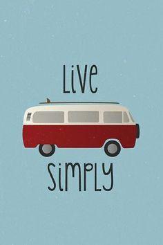Live Simply in a VW van….what I wouldn't do… Live Simply in a VW van….what I wouldn't do… - Create Your Own Van Volkswagen Bus, Vw T1, Volkswagen Beetles, Volkswagen Transporter, Combi Ww, Vw Caravan, Kombi Camper, Vw Camping, Glamping